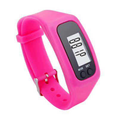 Outdoor Fitness LCD Smart Wrist Watch Bracelet Pedometer