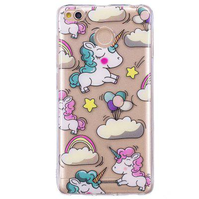 Rainbow Horse Translucent TPU Soft Case for Xiaomi Redmi 4X grasale soft tpu case for xiaomi redmi 4x ultra thin transparent protective back cover for xiaomi redmi 4x shell