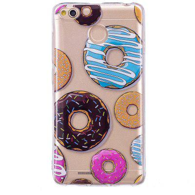 Donut Translucent TPU Soft Case for Xiaomi Redmi 4X grasale soft tpu case for xiaomi redmi 4x ultra thin transparent protective back cover for xiaomi redmi 4x shell