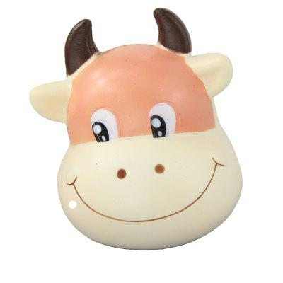 Jumbo Squishy Brown Cow Relieve Stress Toys fancytrader big fat love you plush bear toys 51inch jumbo stuffed bears doll white brown available for girlfriend