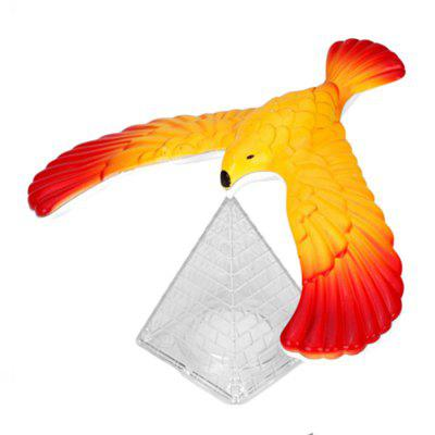 Magic Balancing Science Desk Toy Base Novelty Eagle Fun Learn Gag Gift novelty bloody nail through finger tricky toy magic props