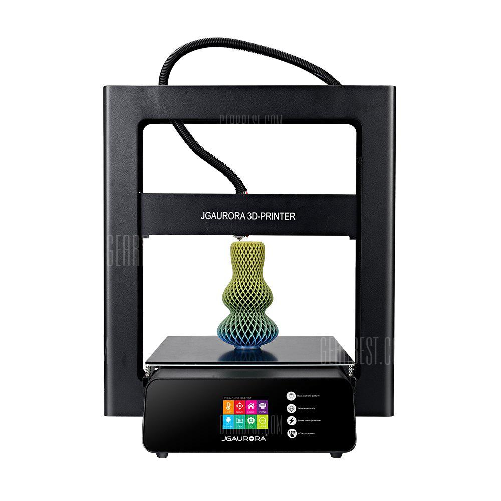 ChinaBestPrices - JGAURORA A5 Updated Large Printing Size 3D Printer