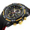 MEGIR 2045 Multi-Purpose Quartz Watch - GOLD