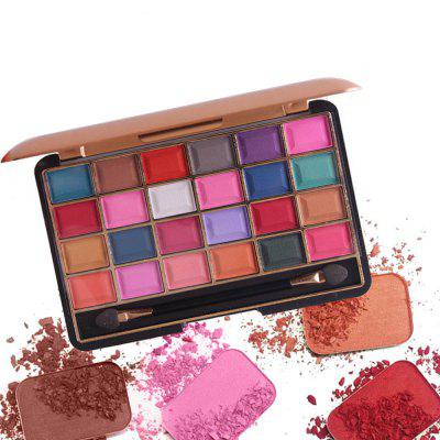 MISS ROSE 24 Color Pearlescent Matte Makeup Eyeshadow miss rose professional 144 color 3 color blush 3 color eyebrow cosmetic makeup kit