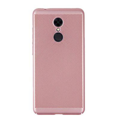 Case for Redmi 5 Heat Dissipation Frosted Back Cover Hard PC fonemax fm xpc r18 universal dual usb car cigarette lighter charger black