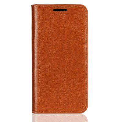 Genuine Leather Wallet Case Cover for Huawei P20 Lite / Nova 3E
