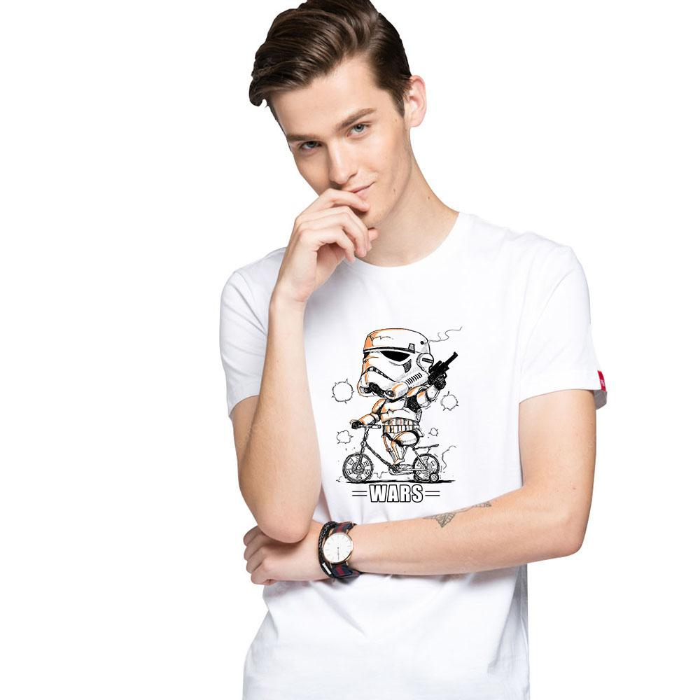 HB Men's Pure Cotton High Definition Printing T-shirt-000475