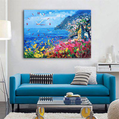 Special Design Frame Paintings Facing the Ocean Print