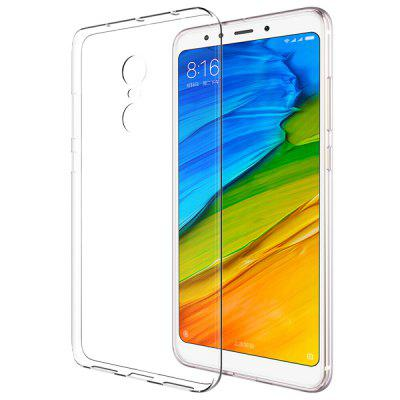 Transparent Soft TPU Clear Phone Case Cover for Xiaomi Redmi 5 Plus