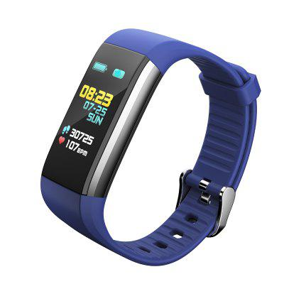 Smart Bracelet with Heart Rate Tracker Pedometer Waterproof Colored Display