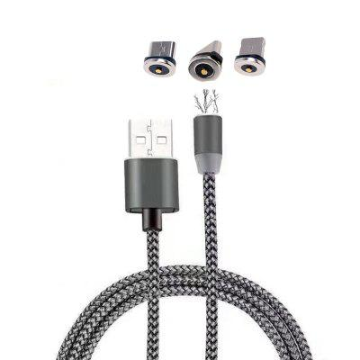 Cwxuan 3-in-1 USB Magnetic Charging Cable