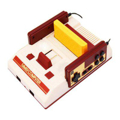 Newest FC Red and White TV Game Console with 632 Games