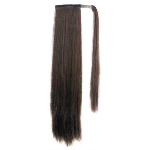 Long Straight Synthetic Wrap Around Ponytail Hairpieces Hair Extension for  Women -  14.63 Free Shipping 7e7a57440