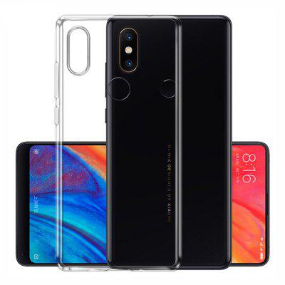 Transparent Slim Soft TPU Cover Case for Xiaomi Mi Mix 2S