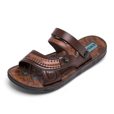 Summer Men's Lightweight Breathable Wearable Beach Sandals