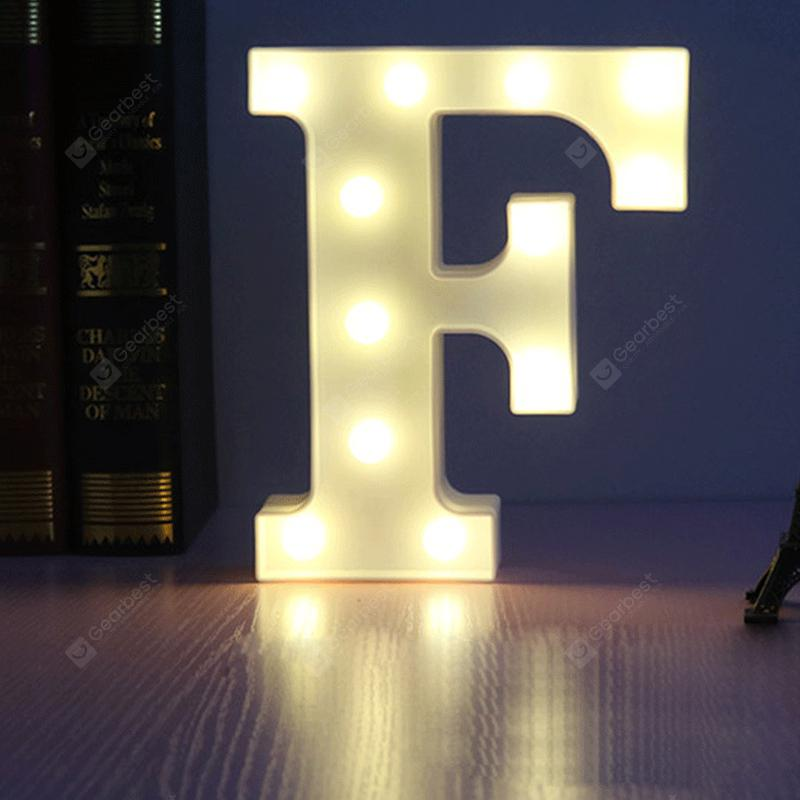 LED Light 26 Letters Festival Lovely Decoration Multi-Function Light