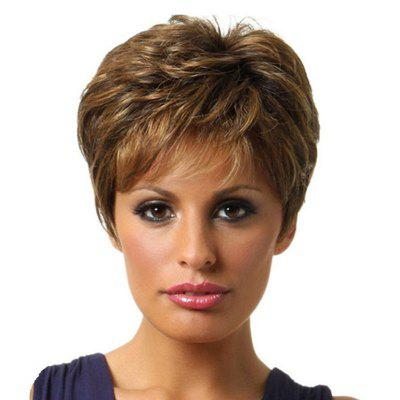 Fluffy Gradient Ramp Short Wig