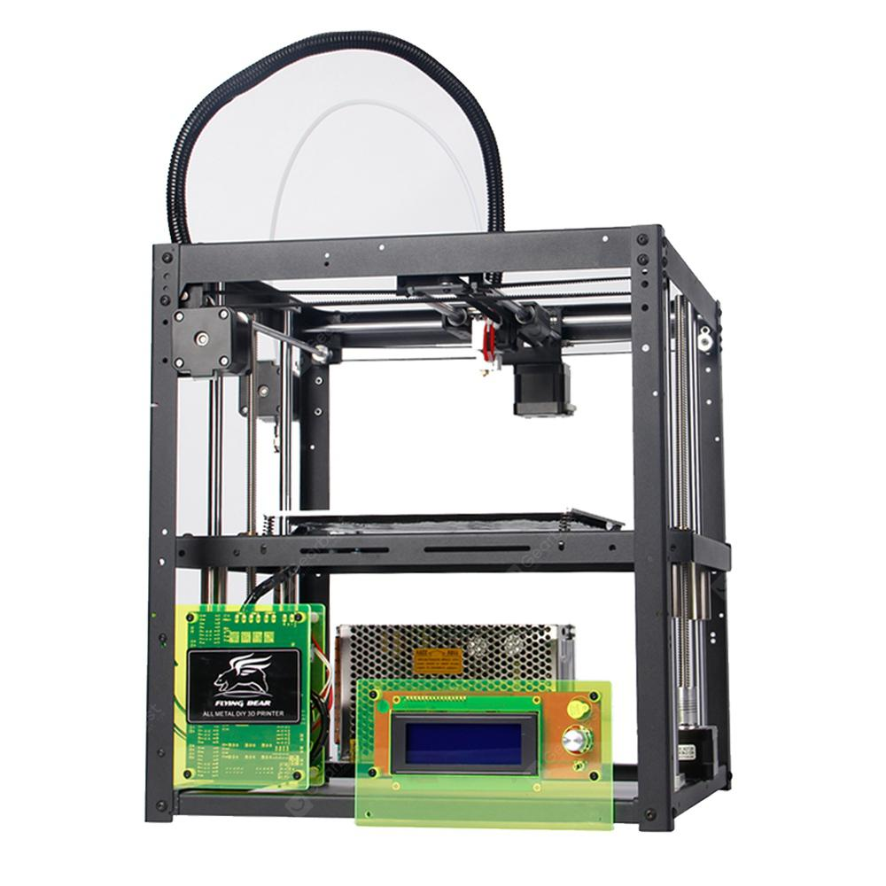 Image result for Flyingbear P905 Large Printing Area Dual Z Support DIY Full Metal 3d Printer