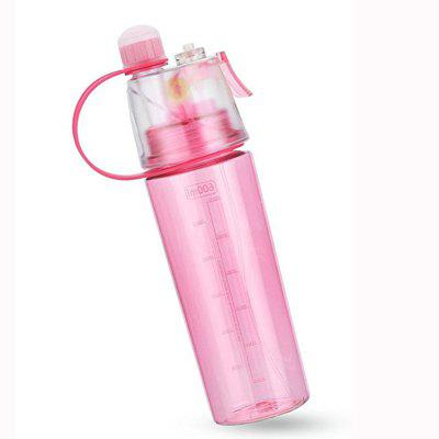Water Bottle  Insulated Bottle with Spray Mist for Outdoor Sport Hydration