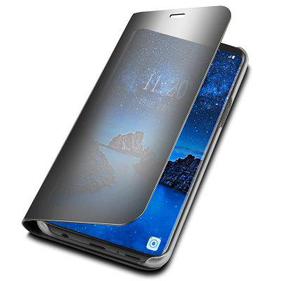 Cover Case per Samsung Galaxy S9 Plus Luxury Clear View Smart Flip in pelle