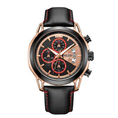 MEGIR 2071 Multi-Purpose Fashion Quartz Man Watch эспадрильи paez indie pacific multi