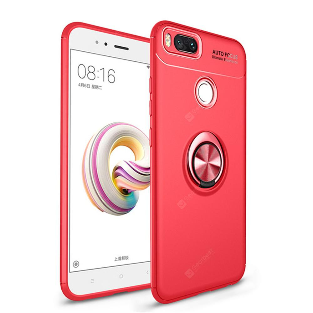 Cover Case for Xiaomi 5X 360 Rotating Finger Ring Phone Magnetic Car Holder