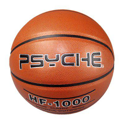PSYCHE Basketball Size 7 Indoor Outdoor Durable PU Non-Slip Game Training Ball