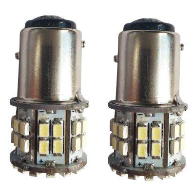 1157 50 LEDs 1206 Turning Lamp Brake Light Tail Blub 12V for Auto Car 2PCS