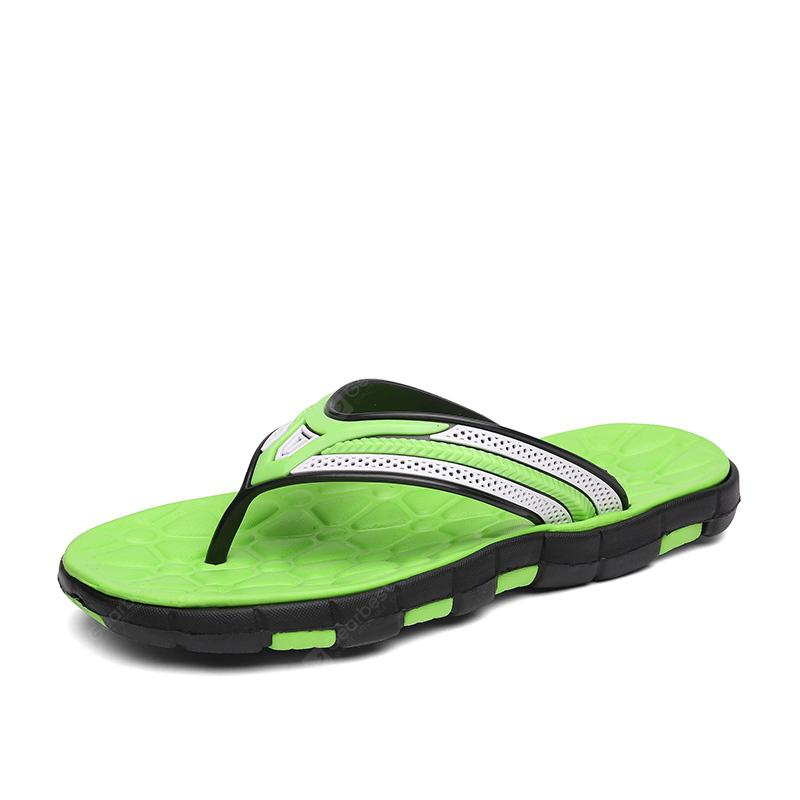 Men Fashion Summer Colorful Flip Flops