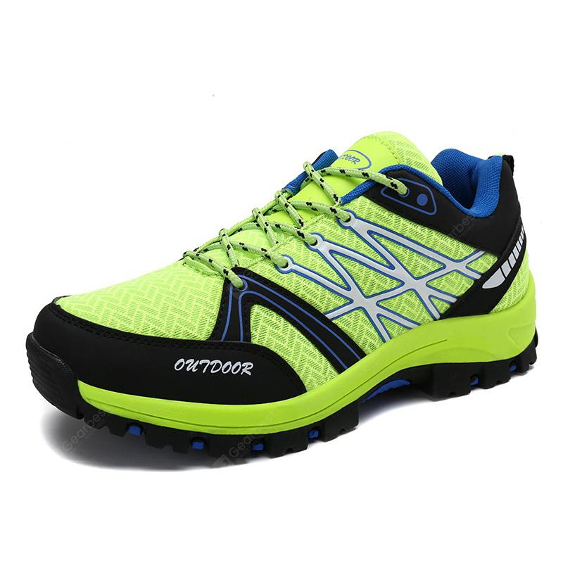 Men Outdoor Shoes Hiking Jogging Athletic Running Breathable Sport Sneakers
