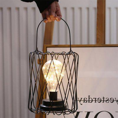 Home Decoration Copper Wire Retro Iron Night Light