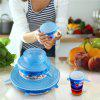 High Quality 6 PCS Silicone Stretchable Lid Durable Expandable Food Saver Cover - SKY BLUE