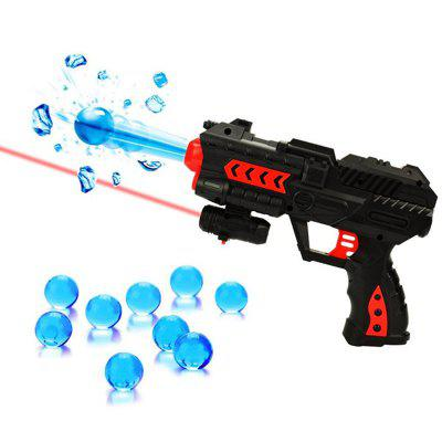 Amusing Toy Gun Soft Bullet Water Pistol Gift Kids Crystal Shooting Game Set low price 220cm giant teddy bear soft toy plush toys kids huge soft stuffed s children big peluches baby doll for women gift