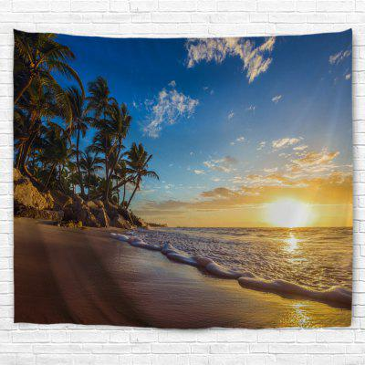 Coast Sunrise 3D Printing Home Wall Hanging Tapestry for Decoration