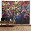Colorful Trees 3D Printing Home Wall Hanging Tapestry for Decoration - MULTI-A