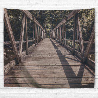 Shrubbery Bridge 3D Printing Home Wall Hanging Tapestry for Decoration