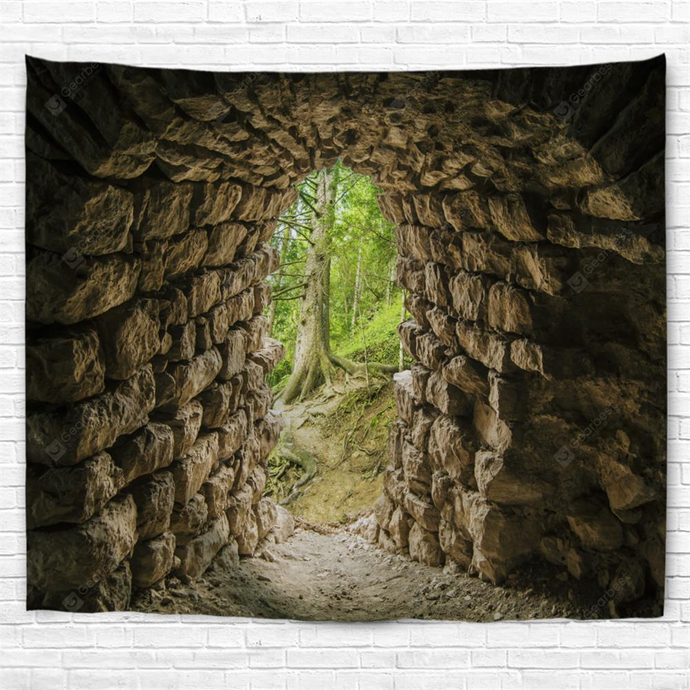 Tunnel Entrance 3D Printing Home Wall Hanging Tapestry for Decoration