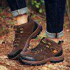 Men Outdoor Mountain Climbing Boots - BROWN