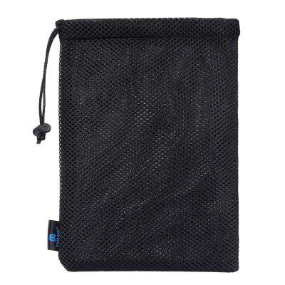 PULUZ Nylon Mesh Storage Bag Pouch Stay Cord for GoPro HERO5 4 3+ 3 2 1