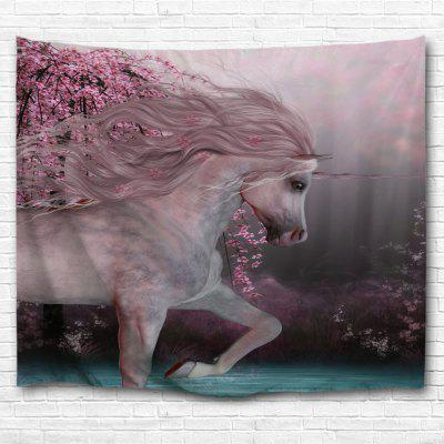Run Unicorn 3D Printing Home Wall Hanging Tapestry for Decoration