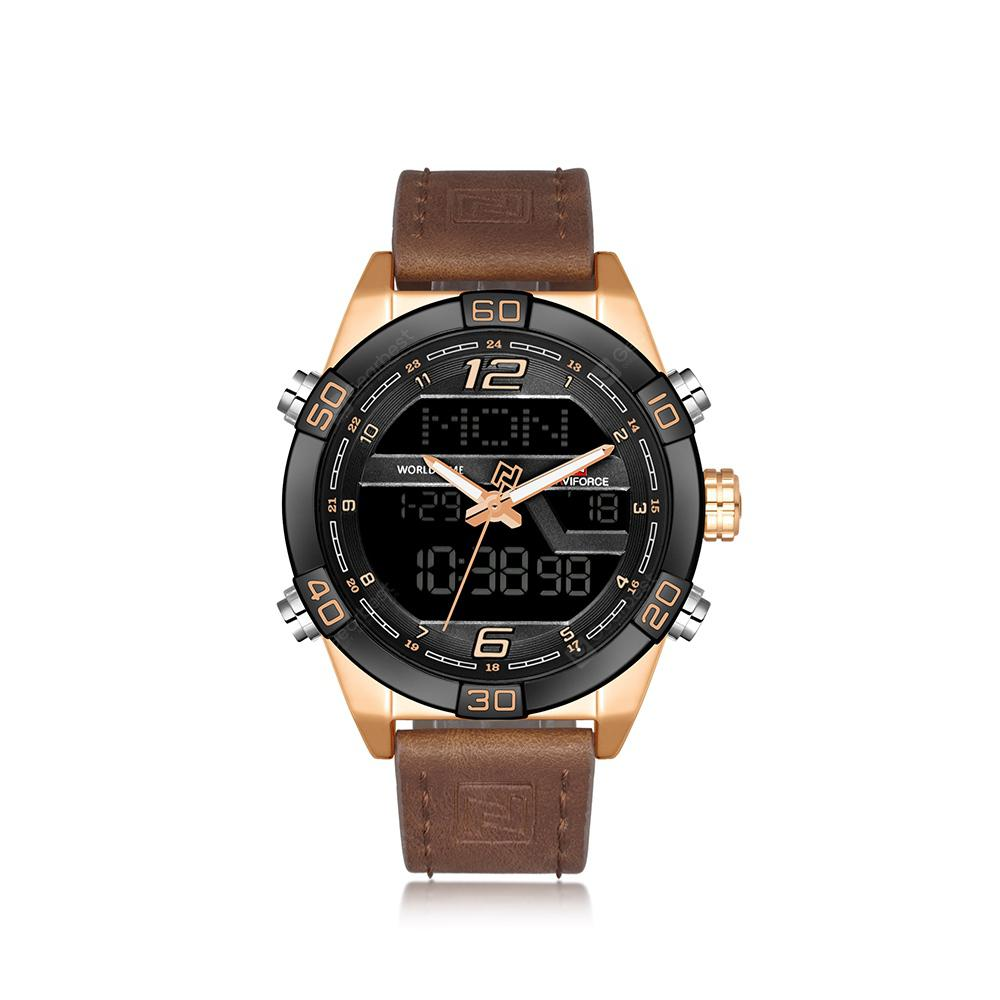 NAVIFORCE Luxury Brand Men Fashion Sports WristWatches