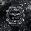 NAVIFORCE Luxury Brand Men Fashion Sports WristWatches - BLACK