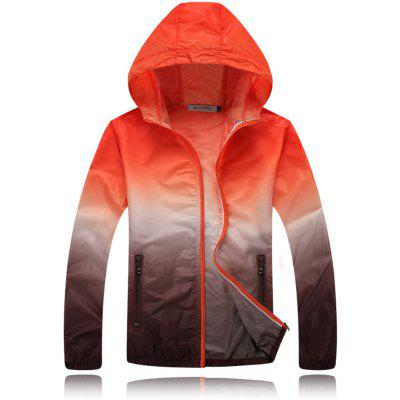 Ultra-Thin Outdoor Sportswear UV Sunscreen Clothing Men's Windbreaker Jacket