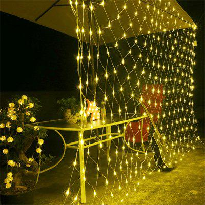 96 LEDs Fairy Fishing Mesh Net String Lighting Outdoor Party Festival Decoration (Gearbest) Pomona Buying a used goods