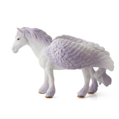 Tale Animal Big Unicorn Flying Horse Figura Model Wild Figurine Giocattolo per bambini