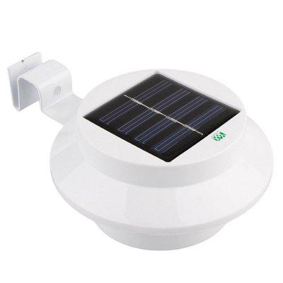YWXLight Waterproof Outdoor 3 LED Bulb Solar Power Light for Garden Garden