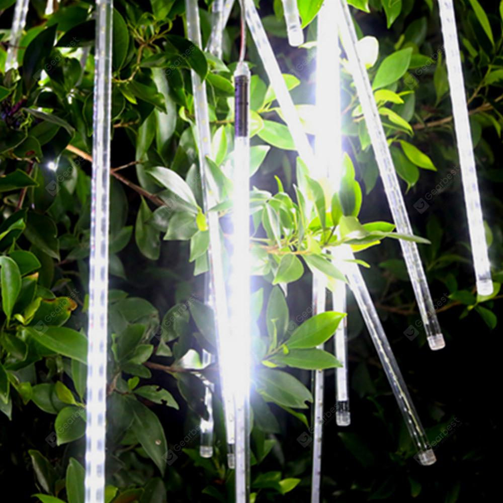 OMTO Waterproof  8 Tube Holiday Meteor Shower Rain LED String Lights