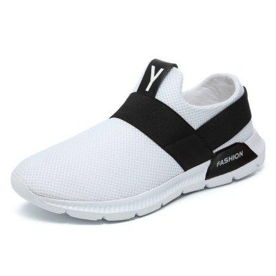 HOMASS Men Sport Outdoor Big Size Mesh Casual Shoes outdoor sport women high top running shoes genuine leather running boots sneakers women plus big size