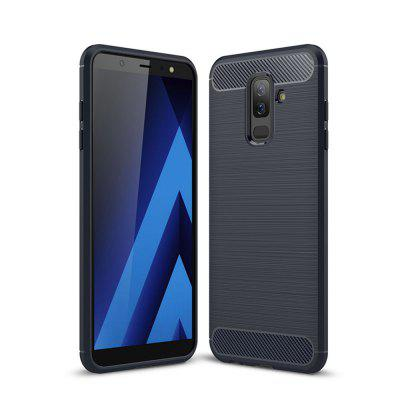 Pouzdro na kryty Samsung Galaxy A6 Plus Shockproof Back Solid Solid TPU