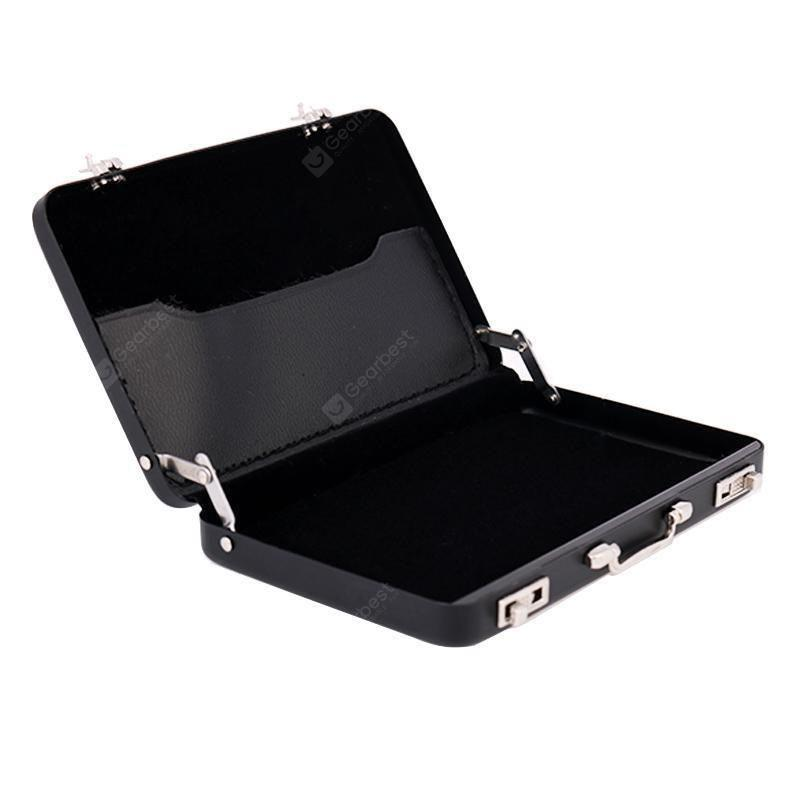 Creative Stainless Steel Aluminum Holder Box Cover Credit Business Card Case G##